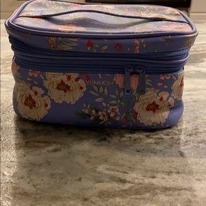 Yumikim travel bag with makeup brush section